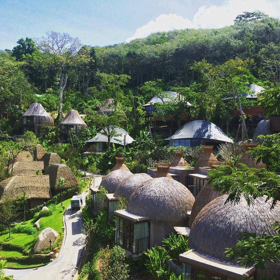 KEEMALA RESORT IN THAILAND.   Luxury tree houses. Tropical houses. Resort design