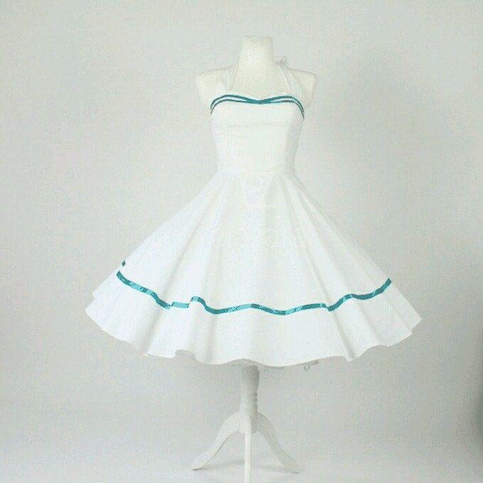 WOW zuckersüßes festliches Petticoat Kleid, Brautkleid sowie als ...