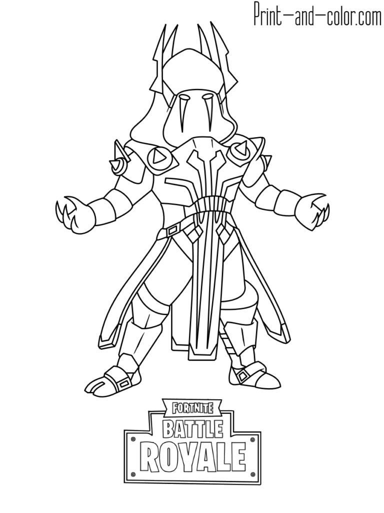 Fortnite Coloring Pages Print And Color Com Coloring Pages Coloring Pages For Boys King Drawing