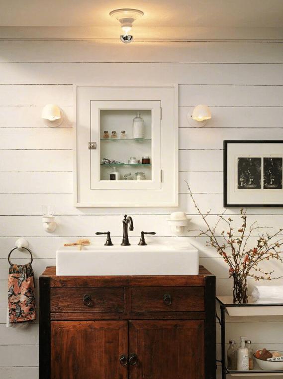 27 Best Small Bathroom Design Ideas That Will Make It Stand Out Farmhouse Bathroom Decor Modern Farmhouse Bathroom Bathroom Design Small