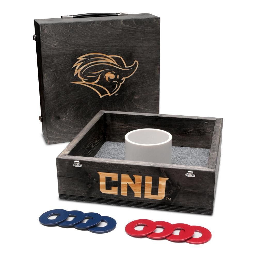 Washer Toss Game - Christopher Newport Captains