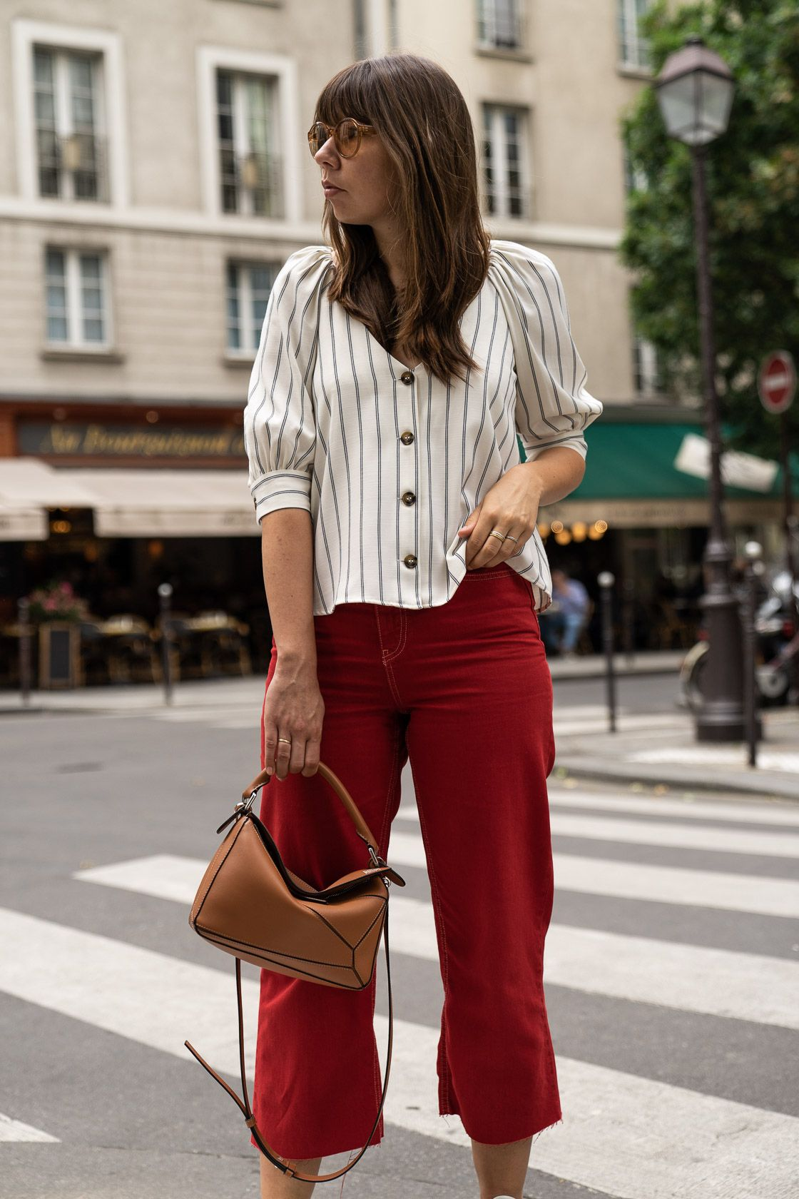 Rote Hose Kombinieren Trendfarbe Rot So Stylt Man
