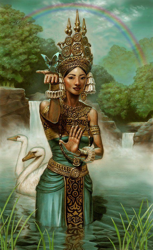 Apsara   Art, Thai art, People art