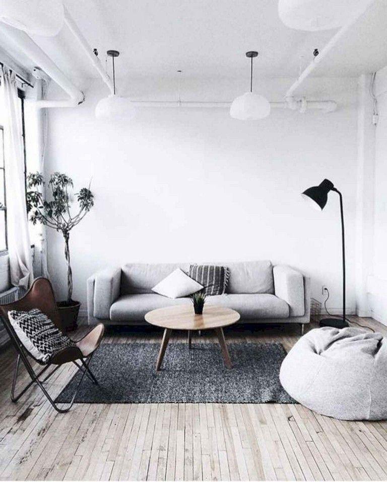 45 Exciting Minimalist Living Room Decor Ideas Livingroom Livingroomdeco Minimalist Living Room Decor Modern Minimalist Living Room Living Room Scandinavian