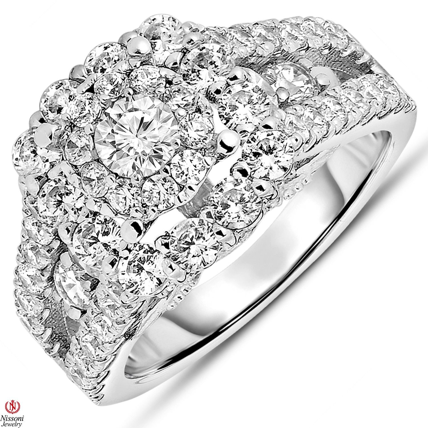 Ebay NissoniJewelry presents La s 2 1 4CT Diamond Engagement