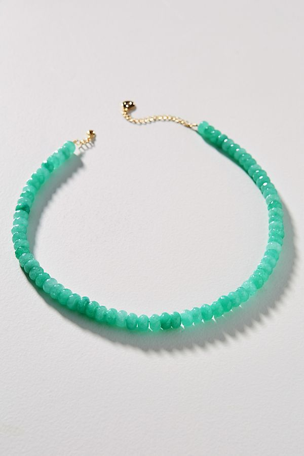 Photo of Cloverpost Simple Stone Necklace