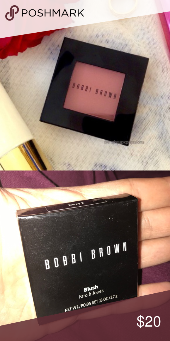 Bobbi Brown - Blush - Tawny 2 - NIB NIB - Bobbi Brown Blush - Color Tawny **Never Used** Bobbi Brown Makeup Blush