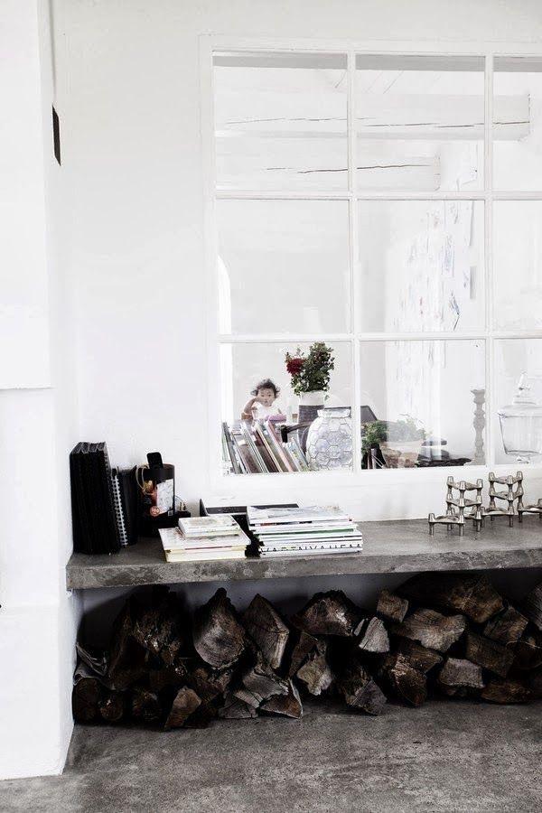 woonkamer inspiratie betonvloeren beton hout huisstijlen wit interieur design modern