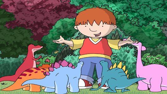 Harry and his Bucketful Dinosaurs