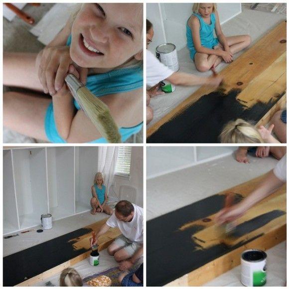 Minimalist Homeschool Room: Our IKEA And Chalkboard Homeschool Room