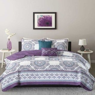 Shop for Intelligent Design Mikay Purple Coverlet Set. Get free delivery at Overstock.com - Your Online Kids'