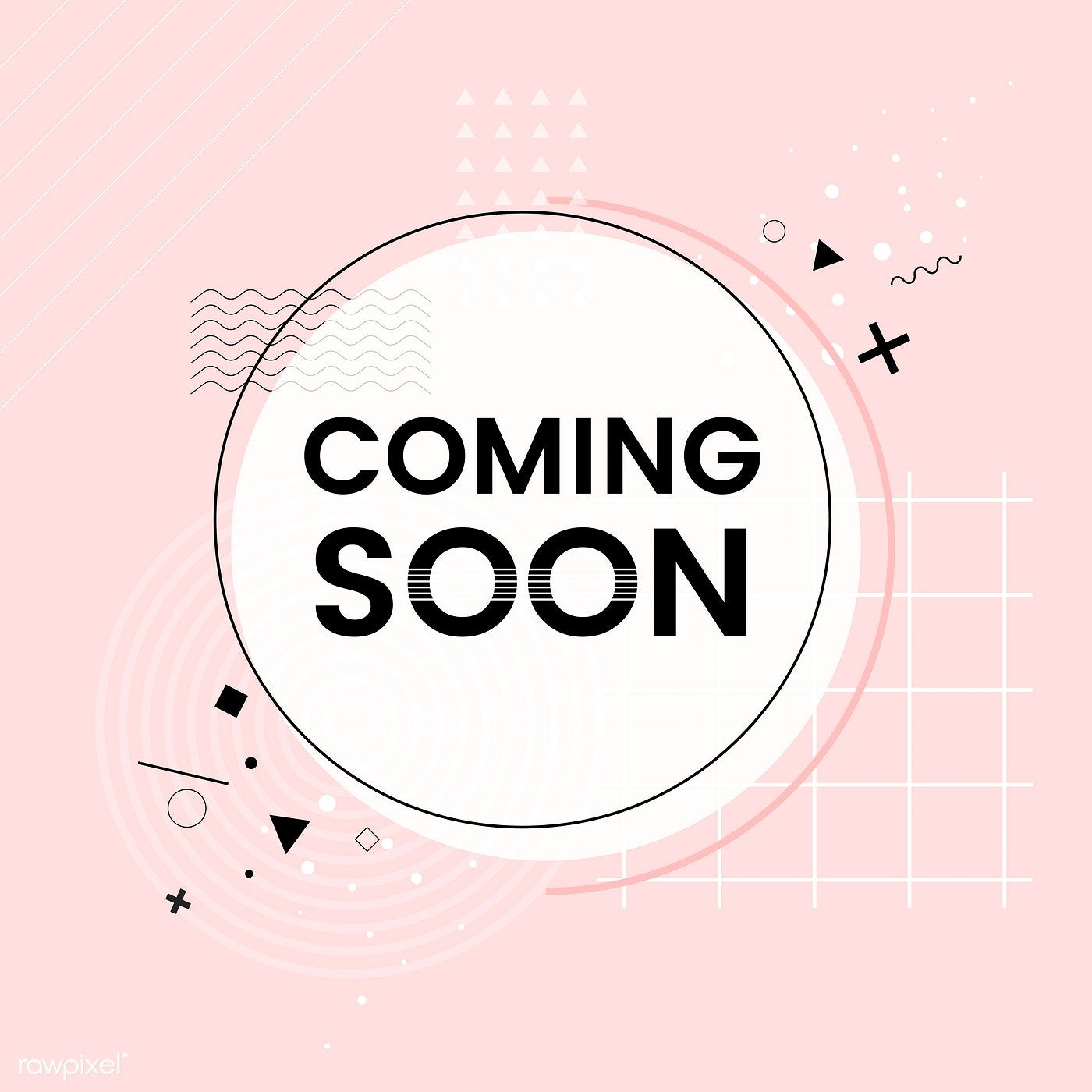 Coming soon shop announcement vector free image by