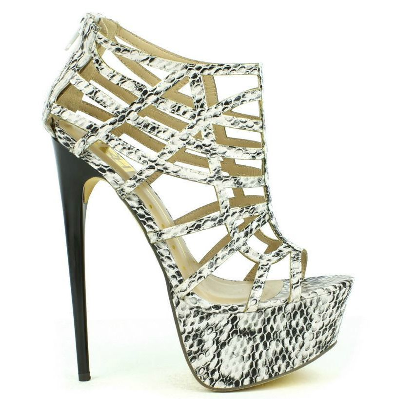 Caged High #Heel Platform #Shoes Peep-toe Sandals  http://www.cutesyoriginals.com/product/vicky-15-caged-high-heel-platform-shoes-peep-toe-sandal/