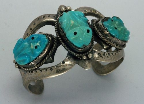 zuni carved turquoise frogs - Google Search