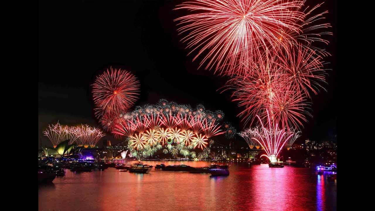 2019 New Year Amazing Fireworks New years eve fireworks