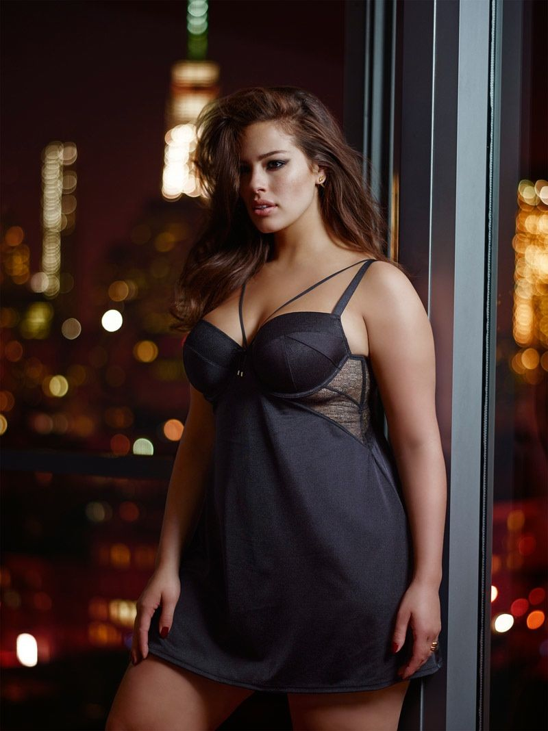 114f6f3fd43 Ashley Graham Seduces in Her Addition Elle Collaboration