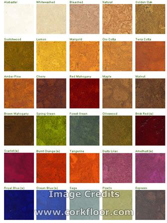 Cork Flooring Comes In So Many Wonderful Colors I Love The Yellow