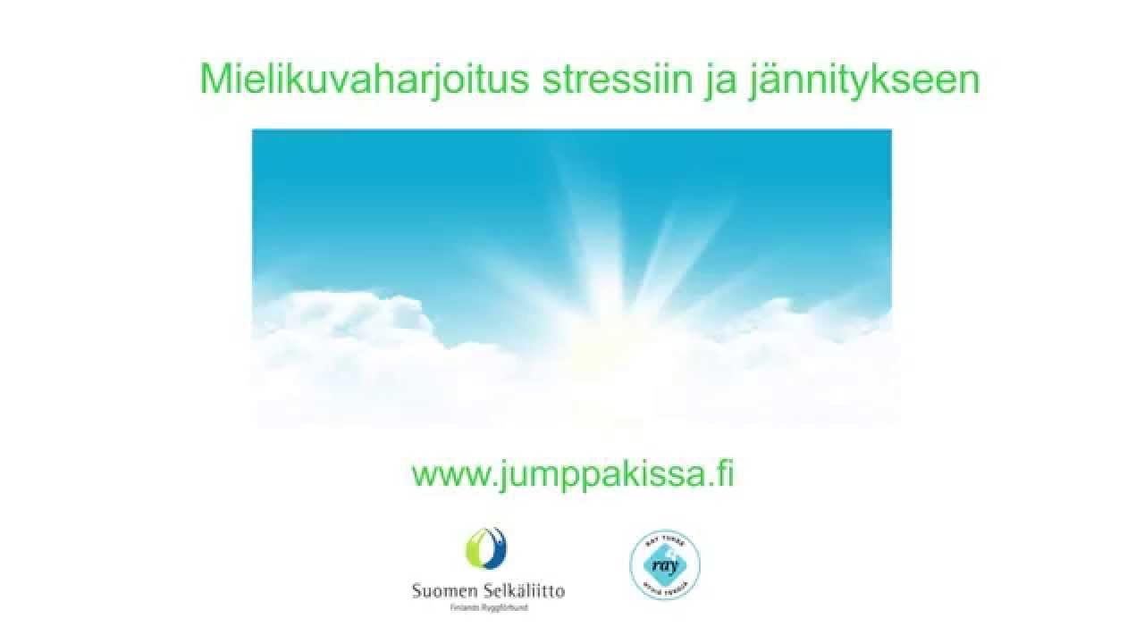 Harjoitus stressin ja jännityksen poistamiseksi