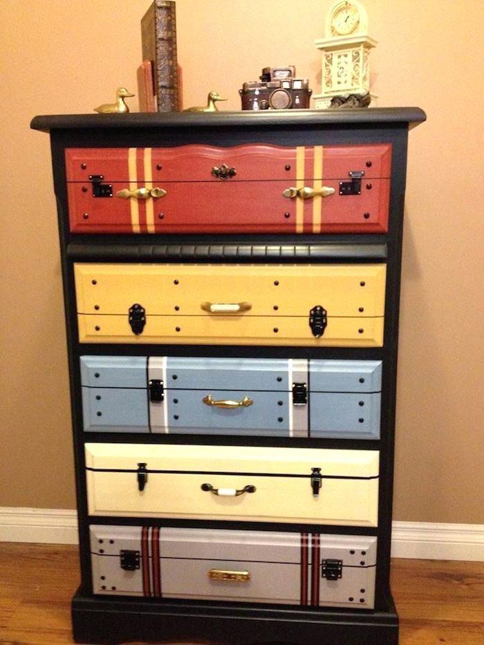 Meuble Customisé Peinture meuble customise commode a peindre relooking meubles repeindre
