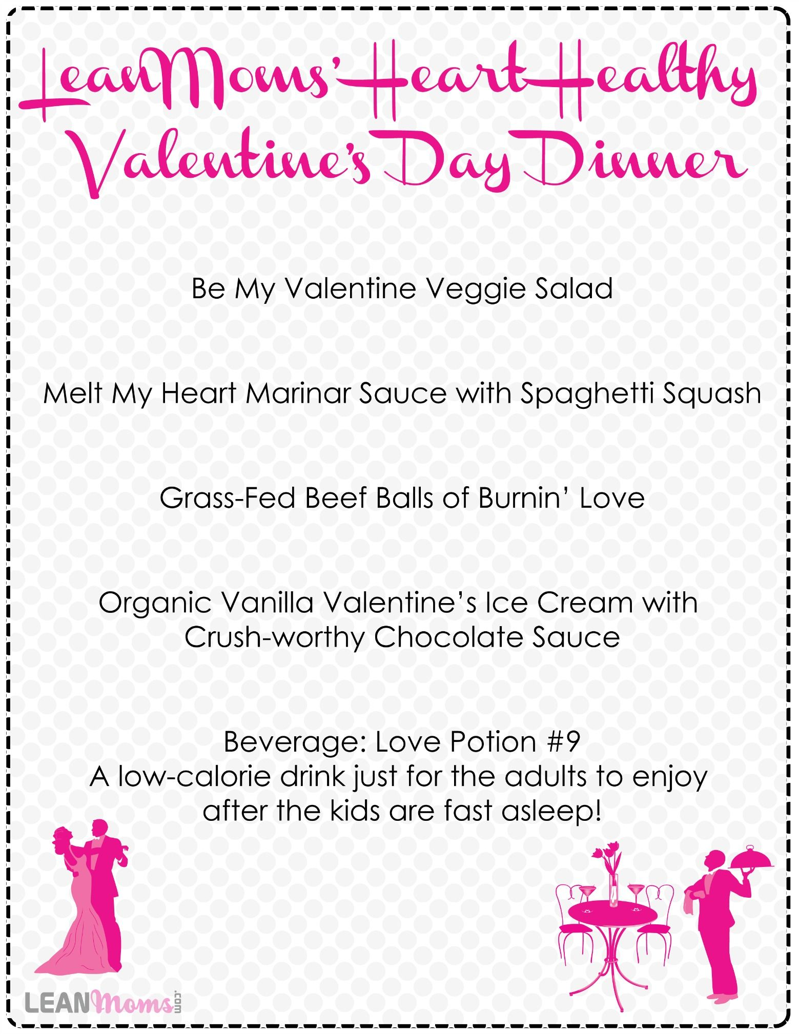 healthy valentines day dinner menu with recipes - Easy Valentine Dinner Recipes