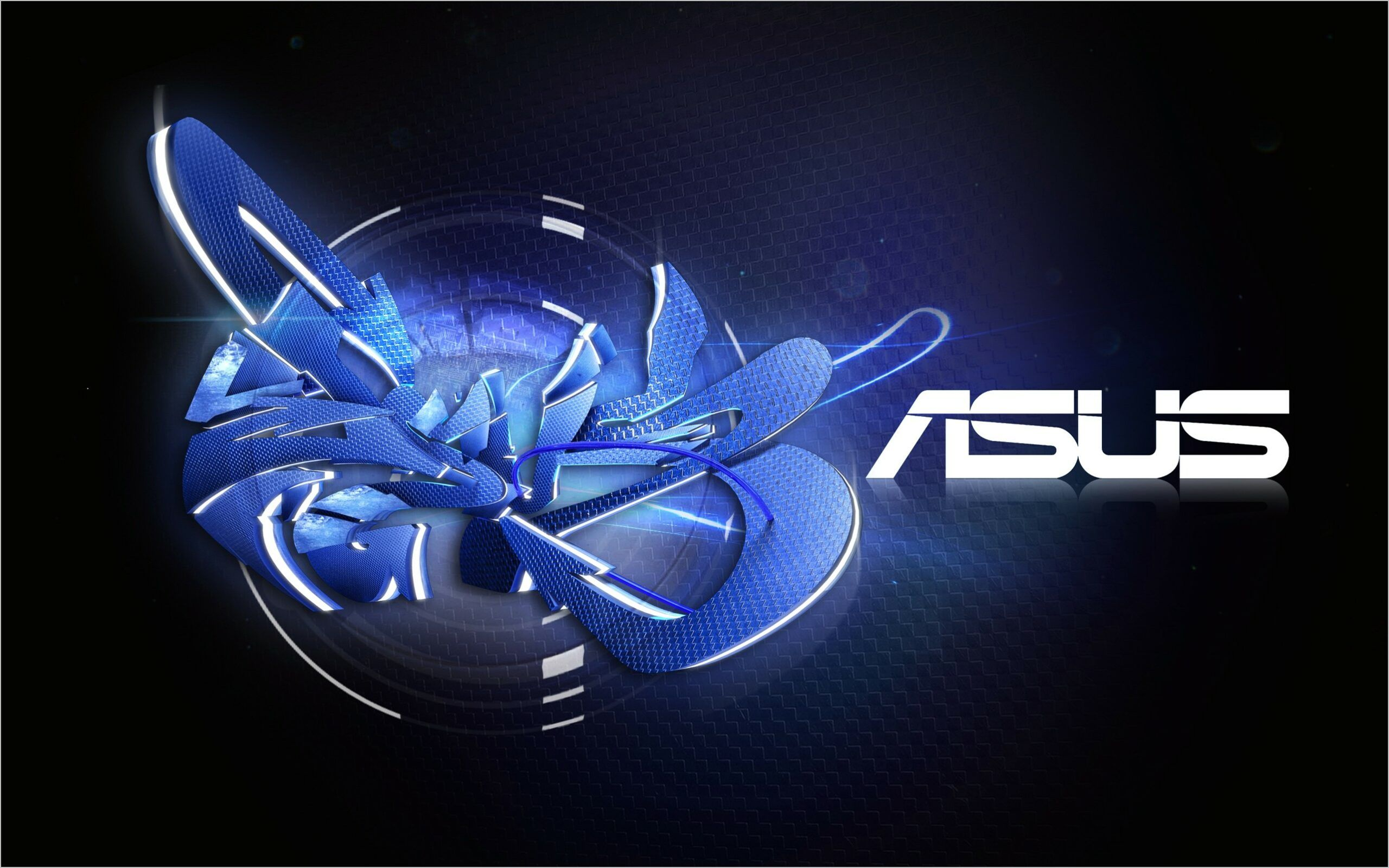 Asus Wallpaper 4k Mobile In 2020 Black And Blue Wallpaper Hi Tech Wallpaper Asus