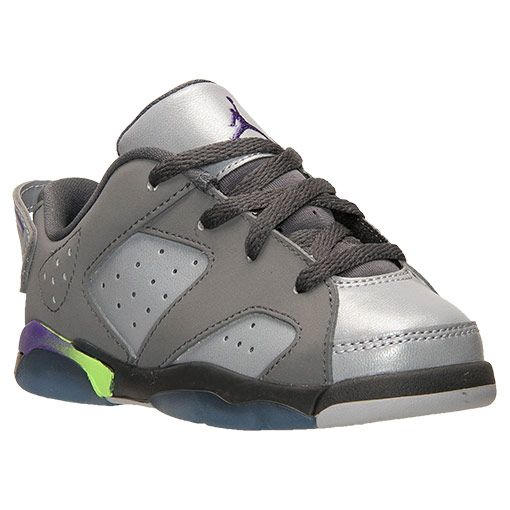 finest selection 219b0 c7d9a Girls  Toddler Jordan Retro 6 Low Basketball Shoes