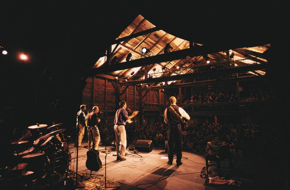 What a great view of The Barns at Wolf Trap!