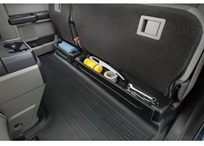 2015 2018 Ford F 150 Cargo Organizer Underseat Ebony