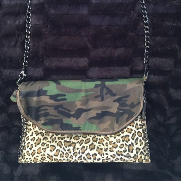 Urban outfitters bag Camo and cheetah. Great condition. Bags
