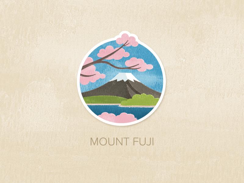 Day One Mount Fuji Mount Fuji Fuji Art Design