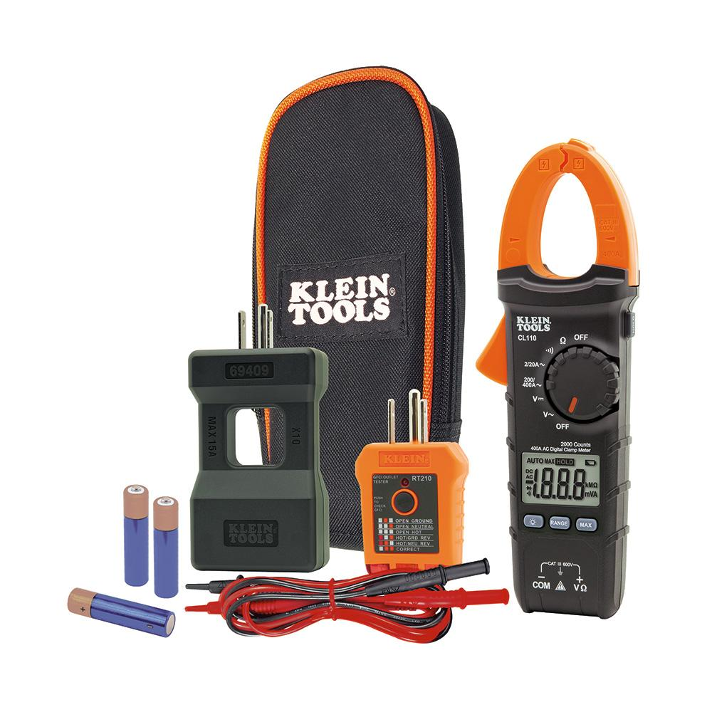 Klein Tools Electrical Maintenance And Test Kit Cl110kit The Ethernet Wiring Diagram Outdoors More