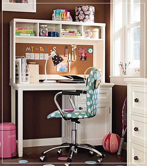 Study Room Furniture, Girl Desk