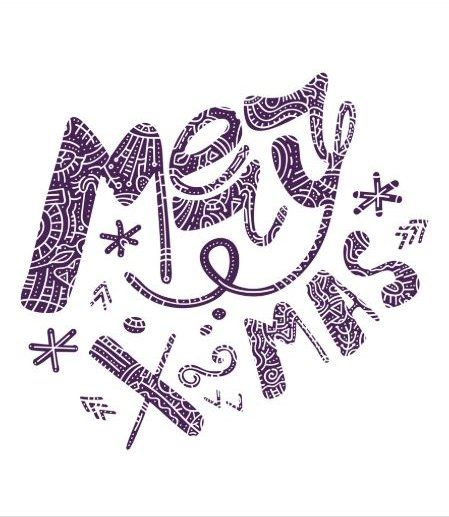 Merry Christmas text design. Christmas is a season of enjoying the simple things that make ...