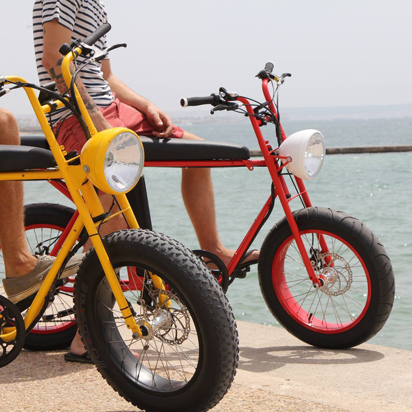 Die Unimoke Ist Ein Elektrisches Mehrzweck E Bike Fatbike Fur