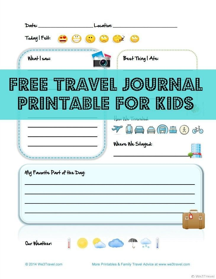 photograph regarding Travel Journal Printable titled Cost-free Little one Generate Magazine Printable toward Catch Beneficial