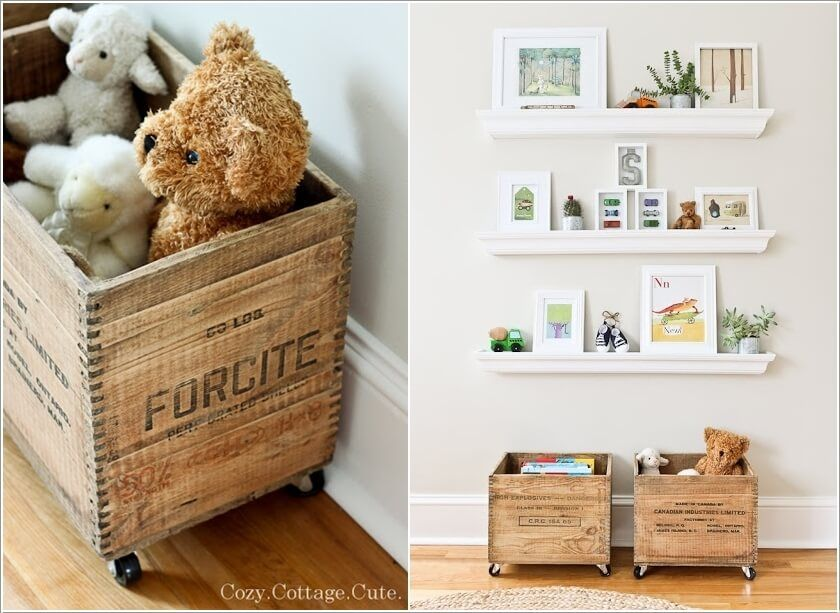 10 Cute Nursery Toy Storage Ideas You Will Admire 2