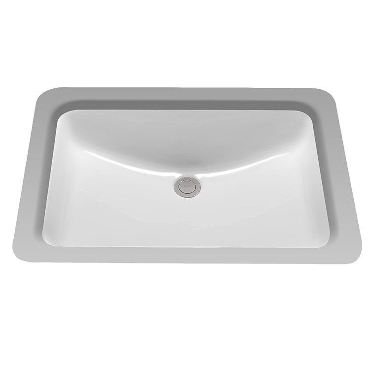 23 1 4 Rectangular Undermount Bathroom Sink Undermount Bathroom Sink Sink Bathroom Sink