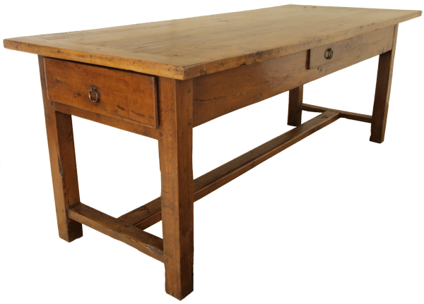 Antique Tables French Oak Kitchen Farmhouse Possible Desk Idea