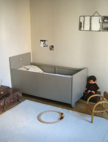 Children\'s room - Vintage bed - Meubs | p e t i t | Pinterest ...