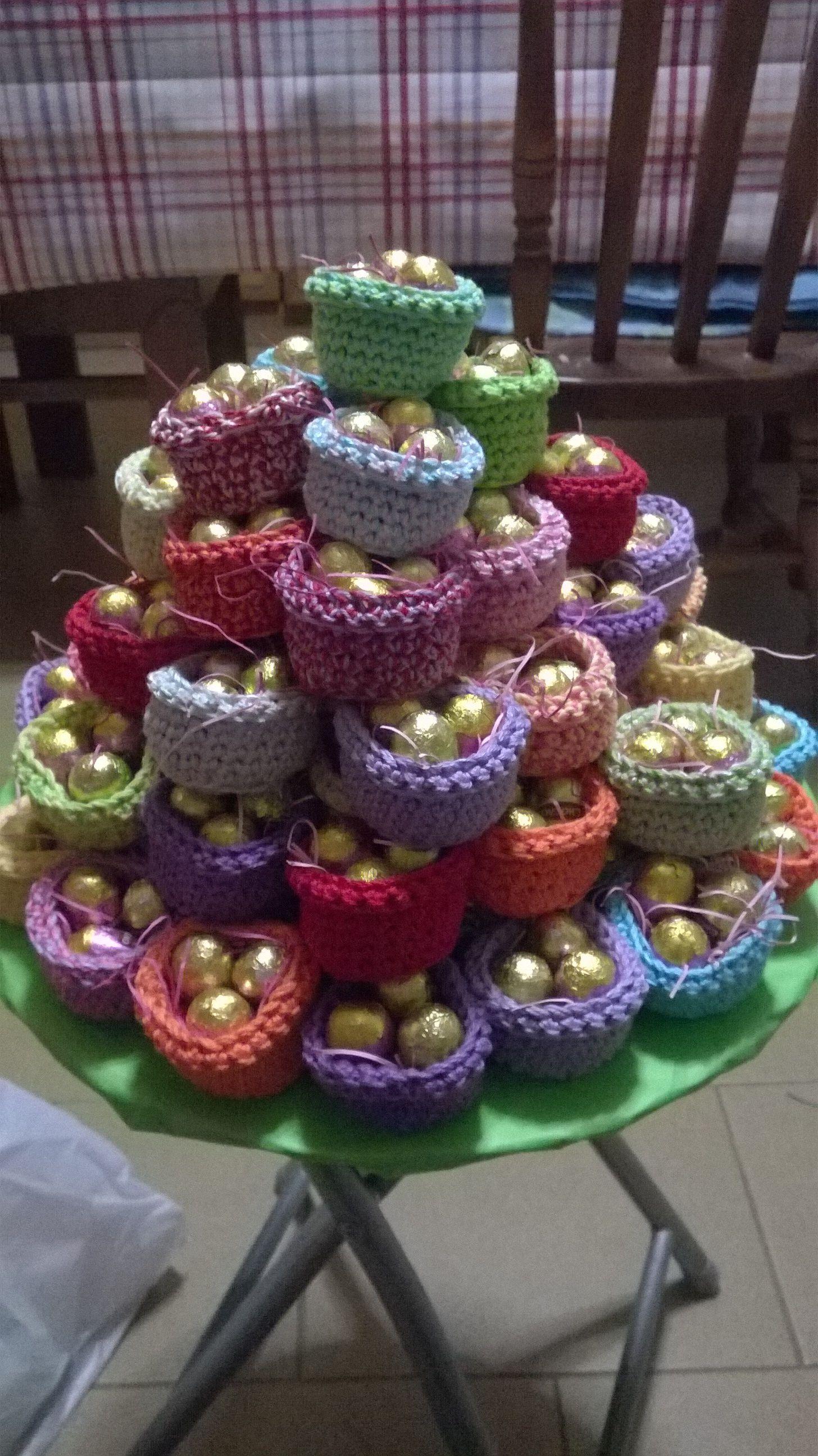 Segnaposto di Pasqua uncinetto