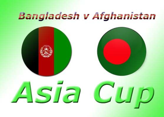 Bangladesh v Afghanistan 5th Match Asia Cup at Fatullah, on March 1, 2014