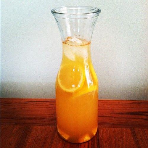 Elixir Of Life Lemons Ginger Cinnamon Turmeric And Apple