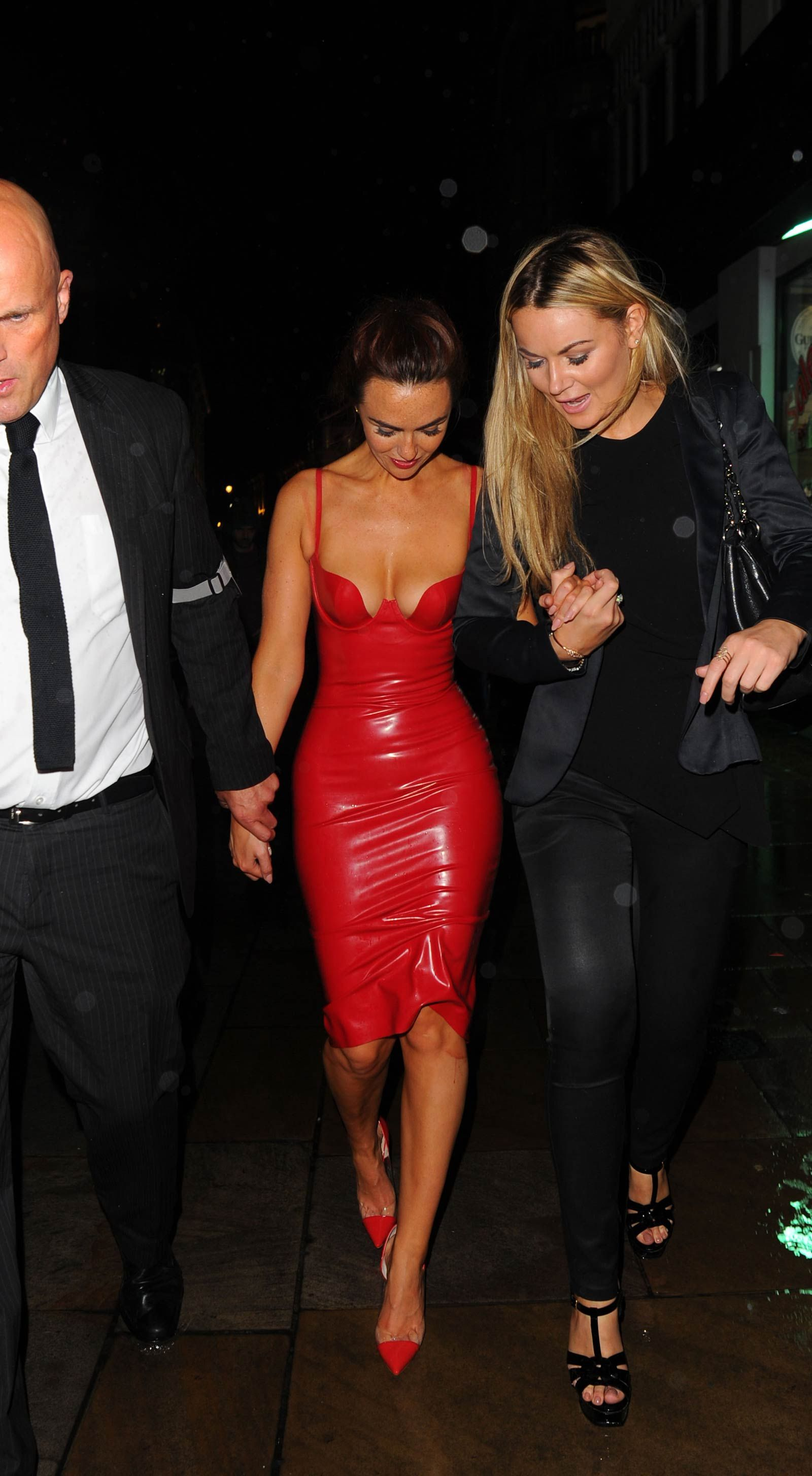 Jennifer metcalfe attends inside soap awards manip pinterest latex