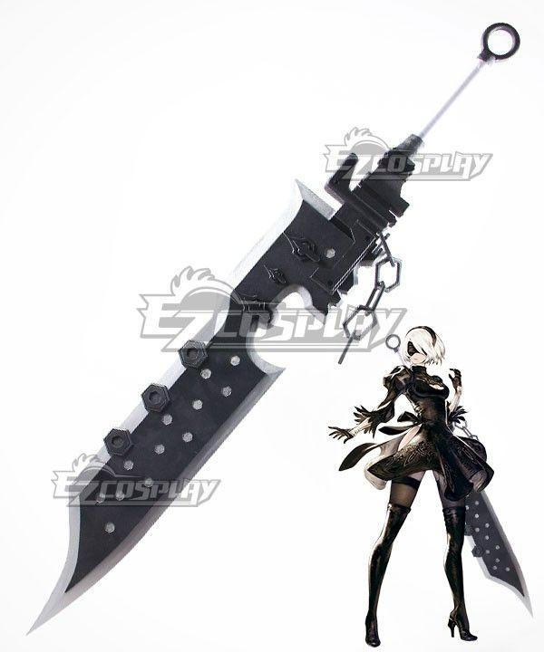 Halloween Sword NieR:Automata  YoRHa No.2 Type B Cosplay Prop Great sword