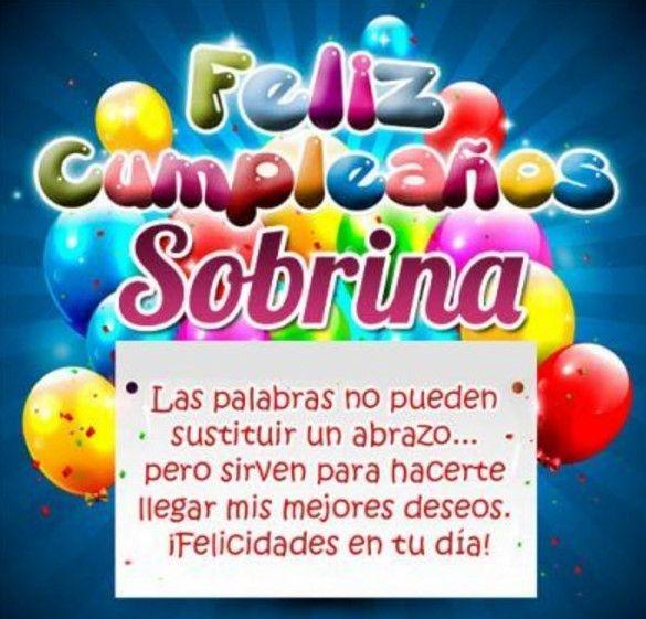 Para Mi Sobrina Imagenes De Happy Birthday