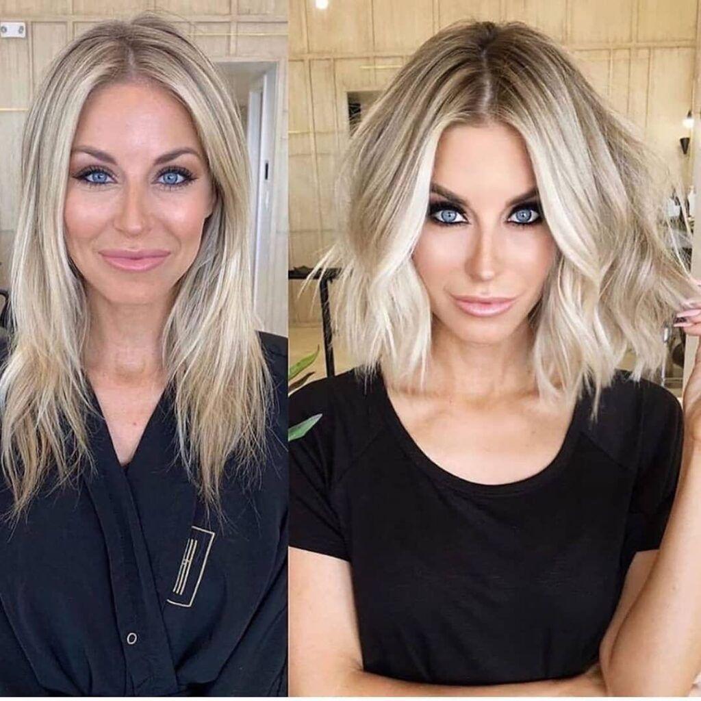 Frisuren2020 Pixie360 Bobfrisuren Haircolor Haircut Hairstyle Grauhaare Haarschnitt Haarschnitt Mittel Haar Styling