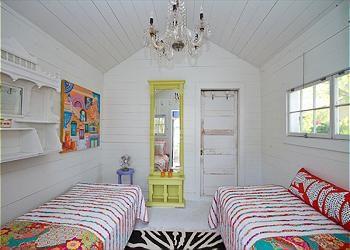 Vintage Beach Cottage Bedroom