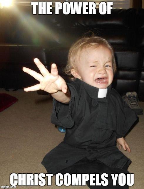 Baby Priest Meme Generator Imgflip Sillyness Pinterest Memes