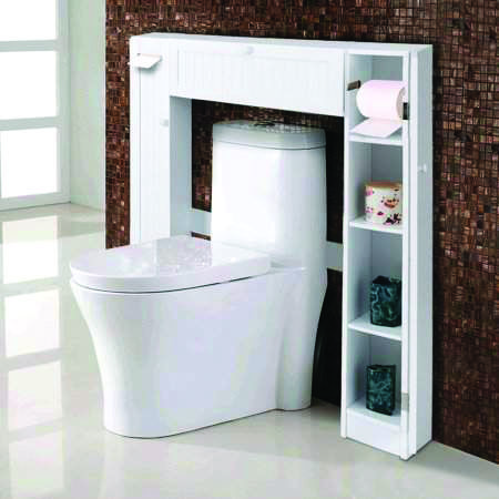 15 brilliant over the toilet storage ideas that make the