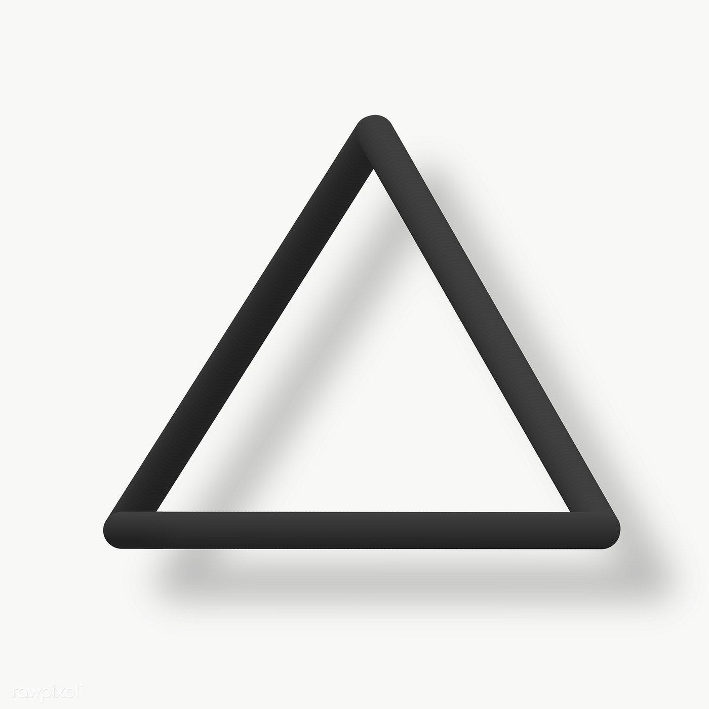 Black Triangle Design Social Banner Free Image By Rawpixel Com Kappy Kappy Triangle Design Design Transparent